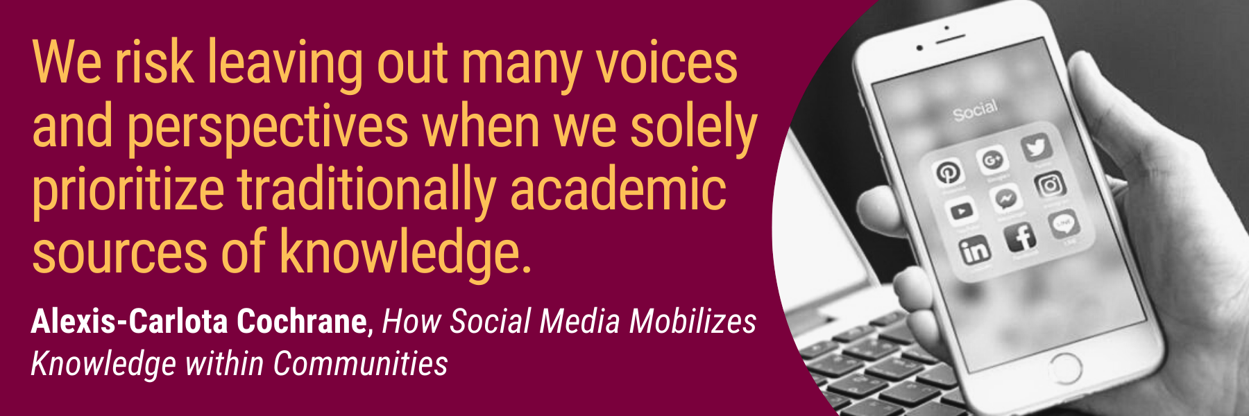 How Social Media Mobilizes Knowledge within Communities: A Case Study of Latinx Students in Ontario